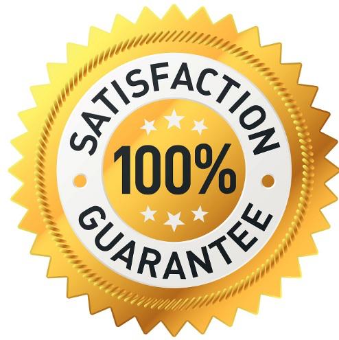 100 Satisfaction Guarantee