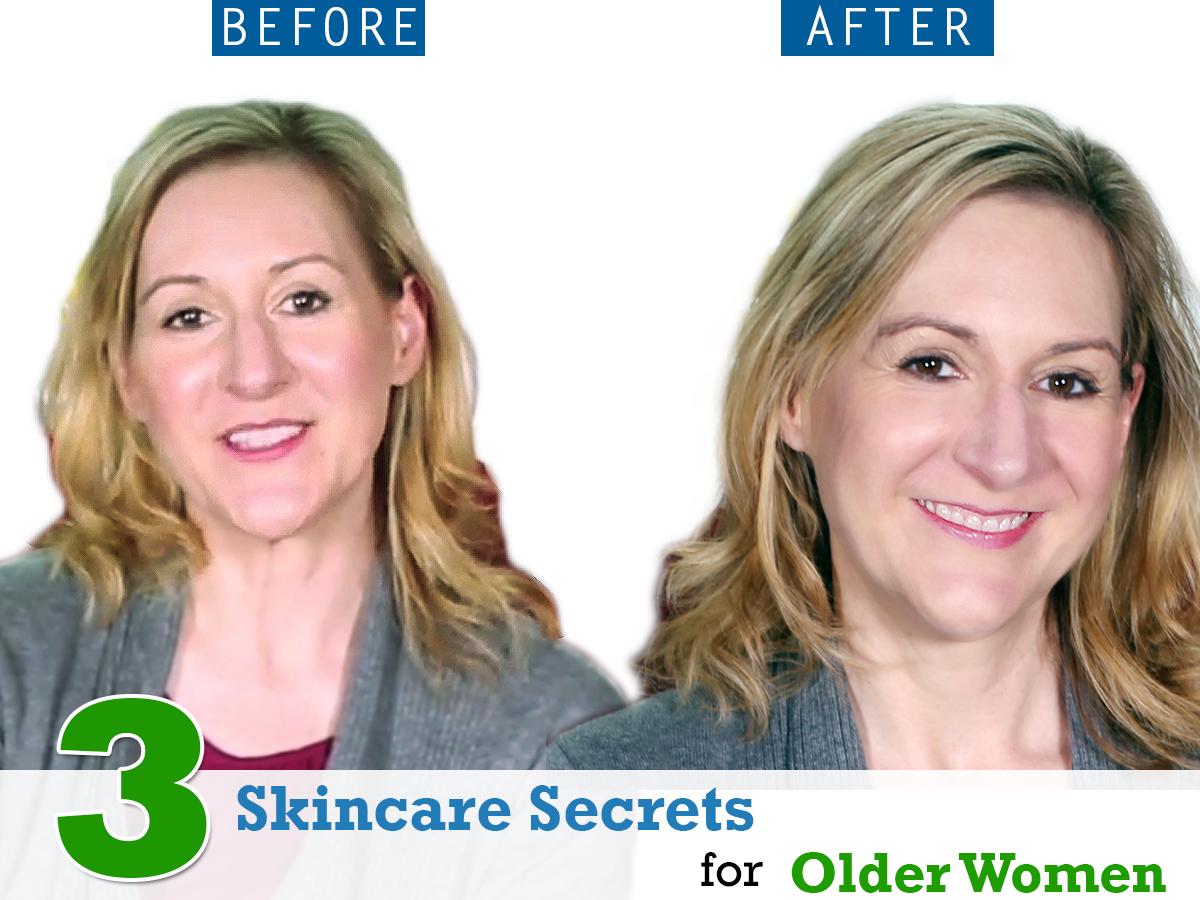 3 Skincare Secrets for Older Women