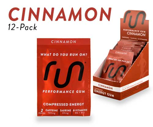 Cinnamon Caffeine Gum