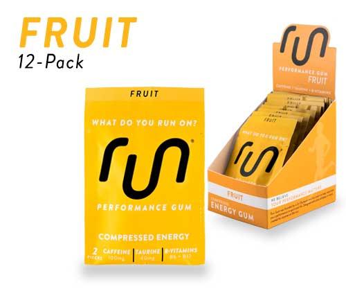 Fruit Caffeine Gum
