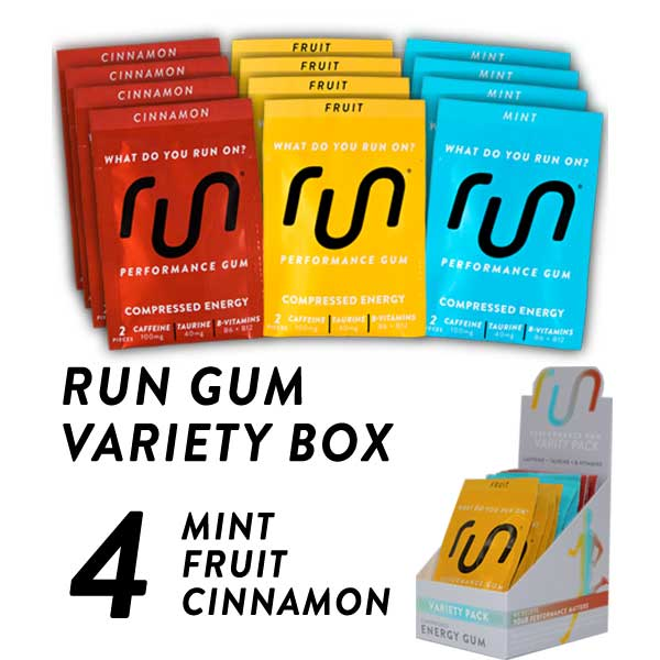 Variety Box Caffeine Gum