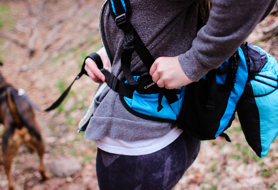 hiking backpack for photographers