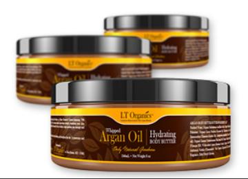 3 - LTOrganics.com Whipped Argan Oil Body Butter