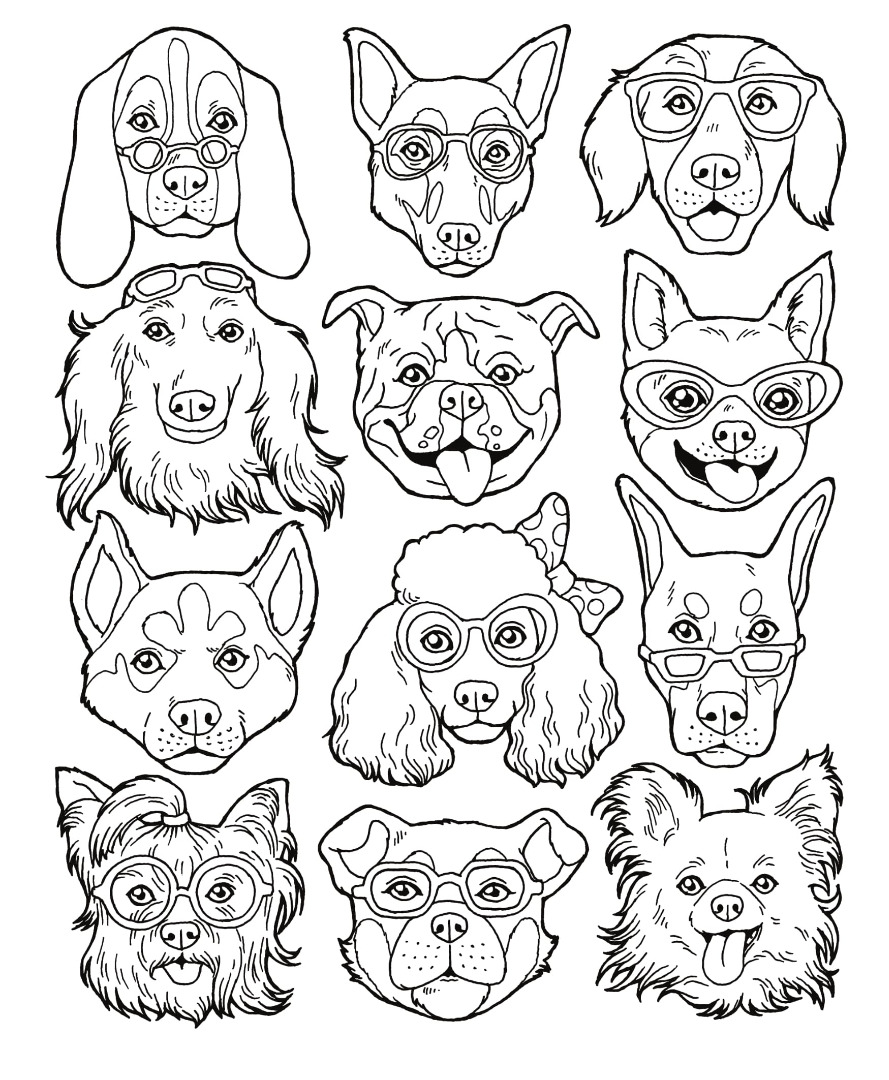 Free Dogs Drawing