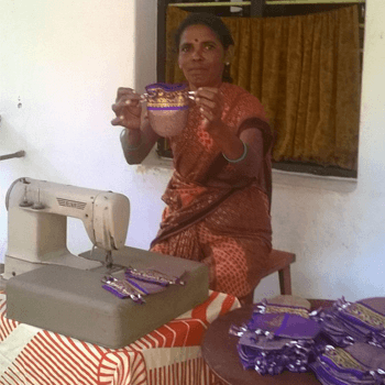 sari pouch