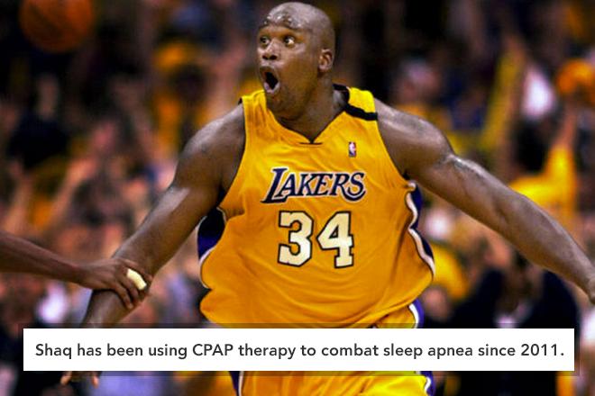 shaq attacks sleep apnea