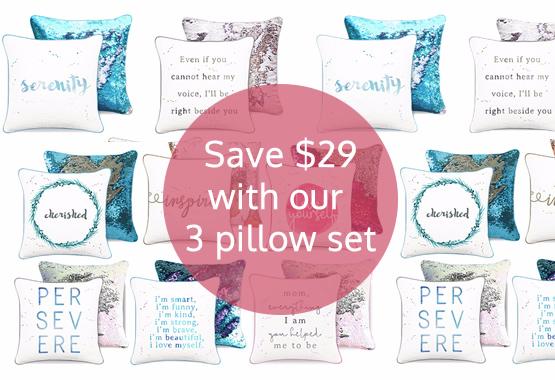 3 Pillow Set