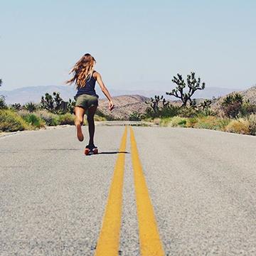 jelly skateboards cruiser skateboard desert