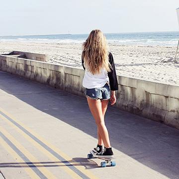 jelly skateboards la jolla cruiser longboard