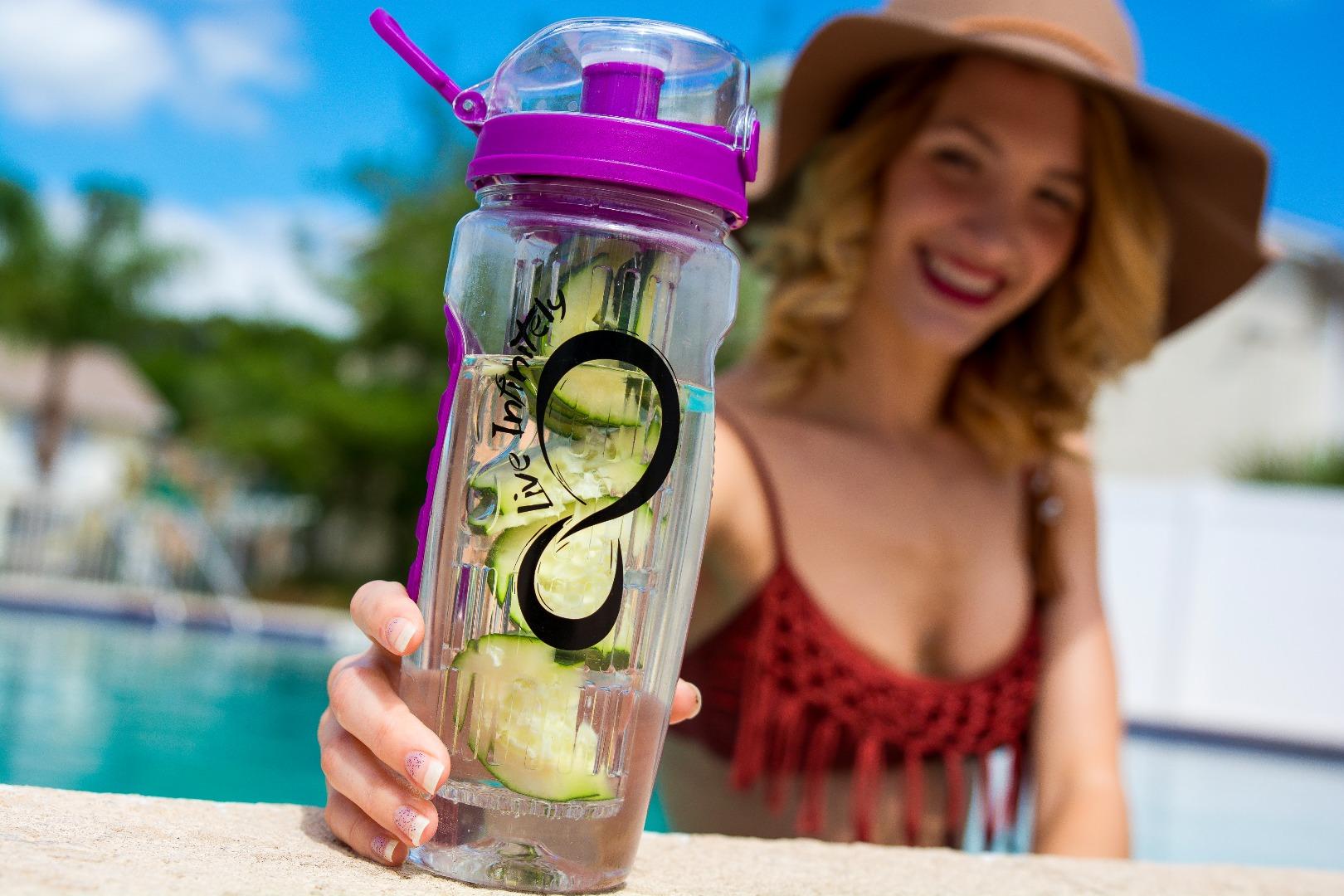 best fruit infused water bottle