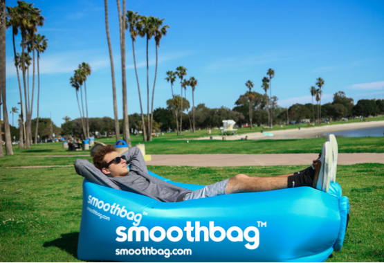 blue smoothbag