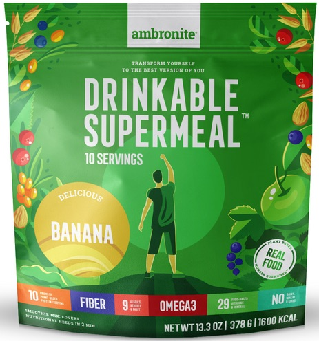 Ambronite Supermeal Meal Replacement Flavor Banana