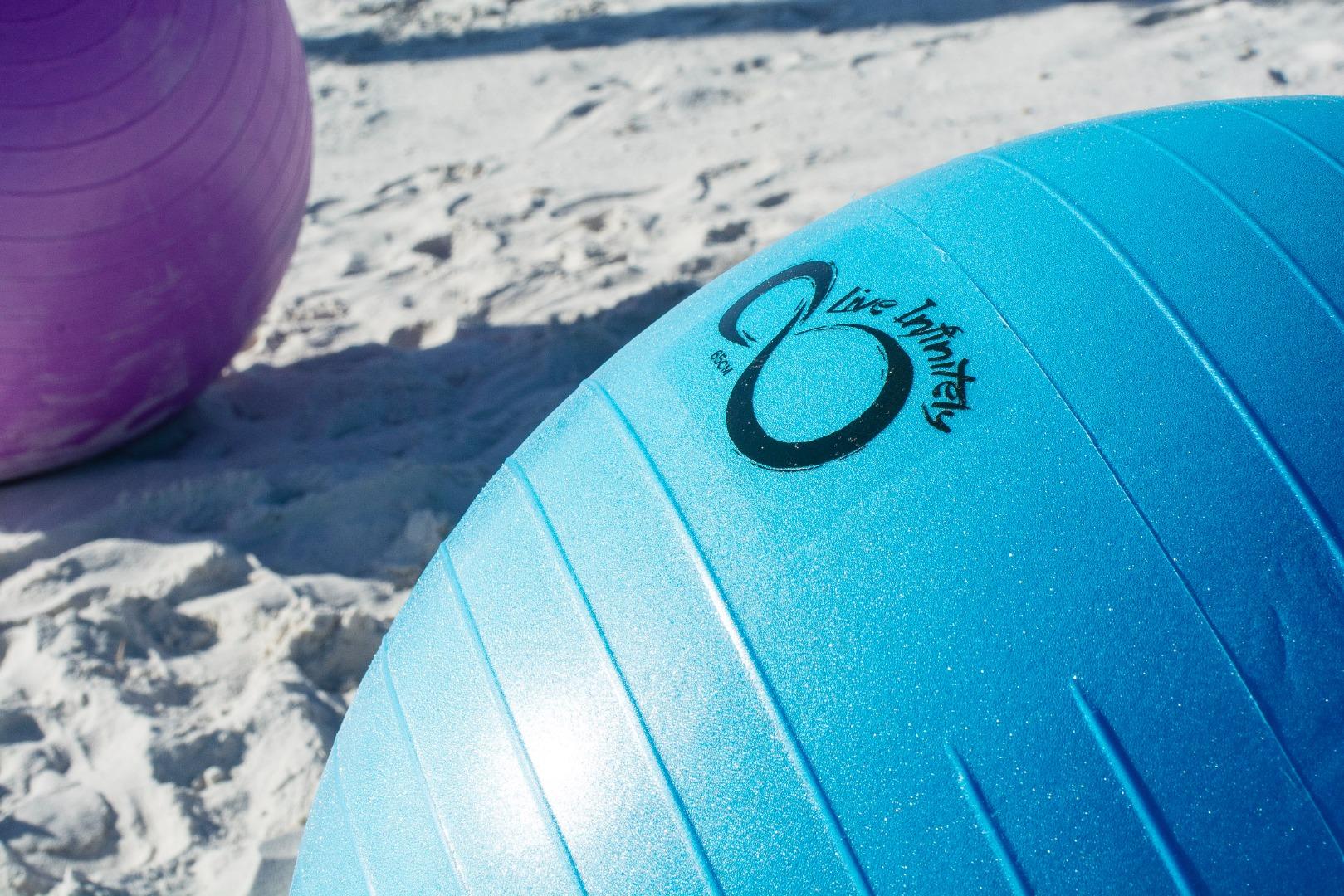anti burst exercise ball