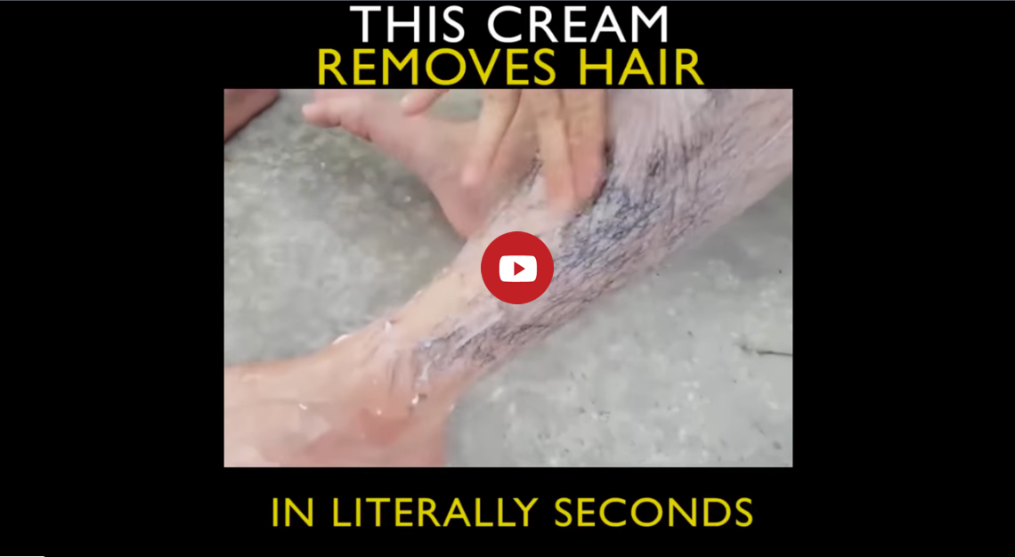 Hair Cream Removal Video