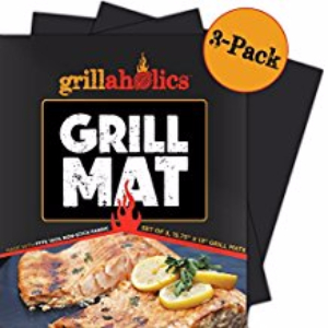 Grillaholics Grill Mat - Set of 3