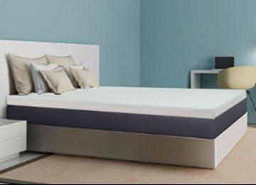 Best Price Mattress 4-Inch Memory Foam Mattress Topper, Queen