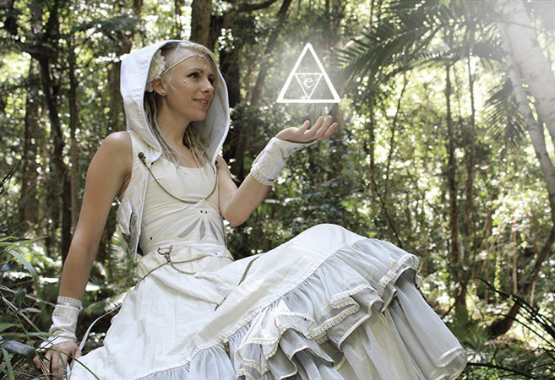 Faery Wedding Dresses are beautiful for nature lovers and outdoor natural settings