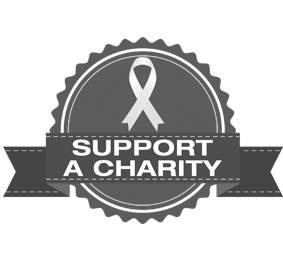 support a charity