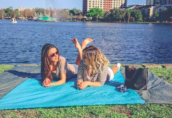 outdoor beach blanket
