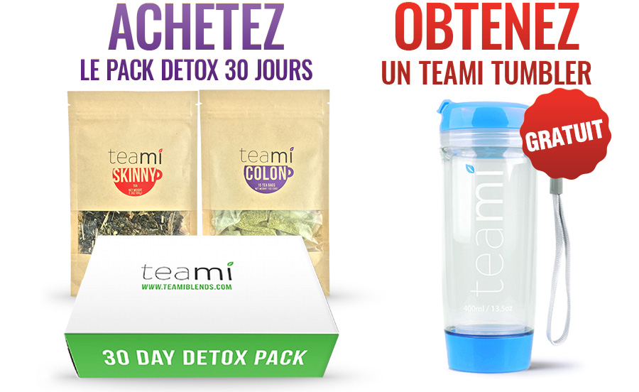 teami detox 30 days pack free blue tumbler
