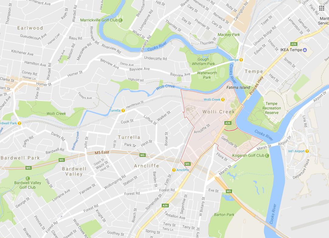 Clothesline Wolli Creek 2205 NSW