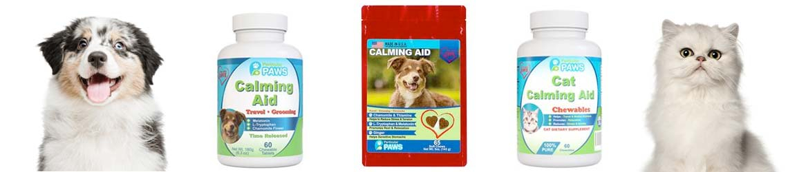 Calming aids for your pet