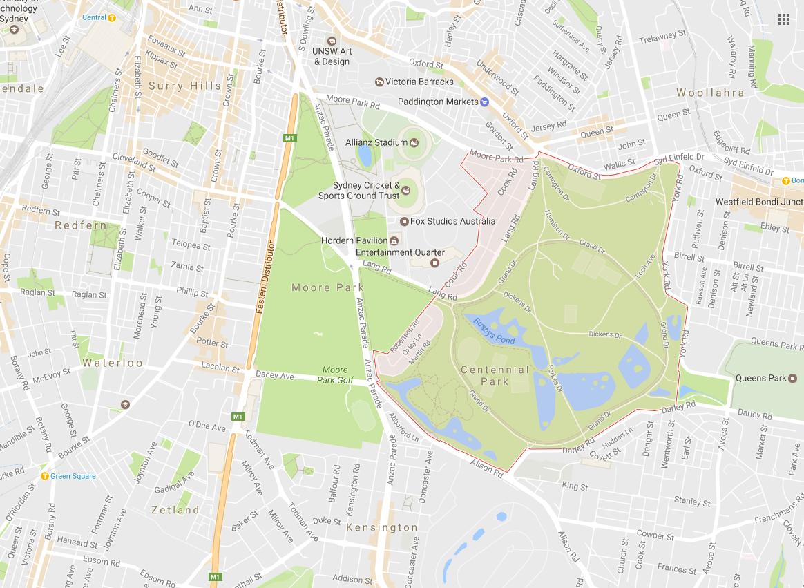 Clothesline Installation Centennial Park 2021 NSW