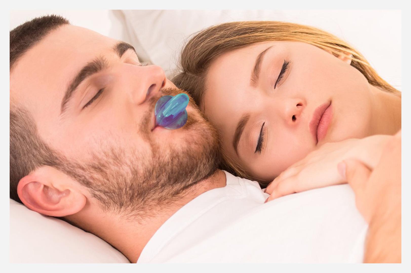 Using tongue restraining device