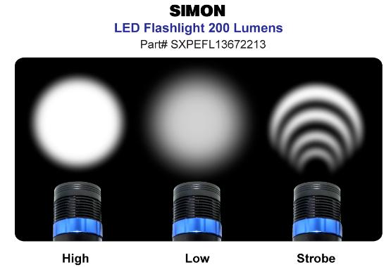 200 Lumen XPE Flashlight