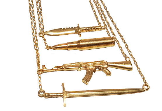 combat necklace