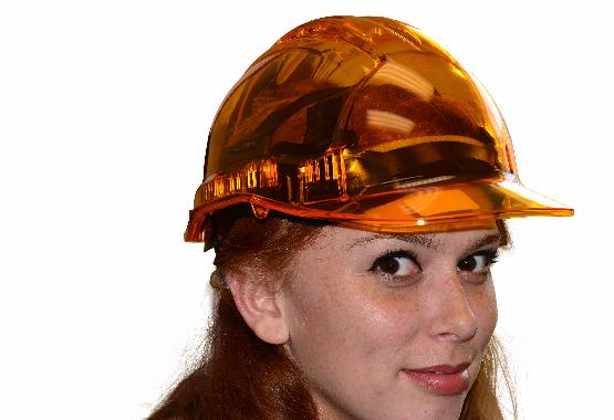 Translucent Vented Hard Hat | Portwest Peakview