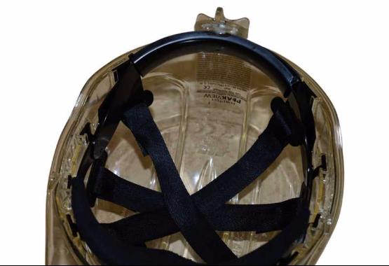 ratchet style textile harness