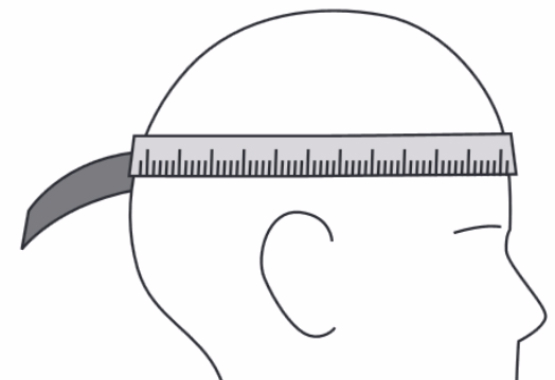 head size for hard hat