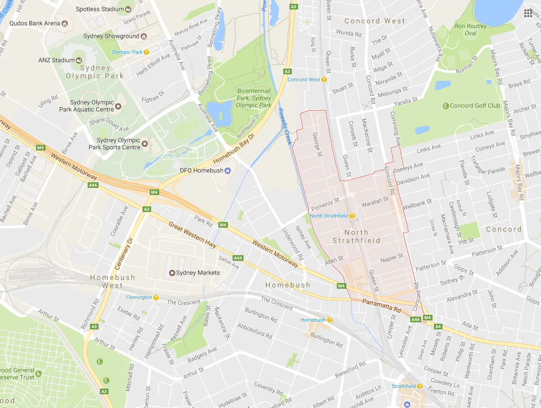 Clothesline North Strathfield 2137 NSW