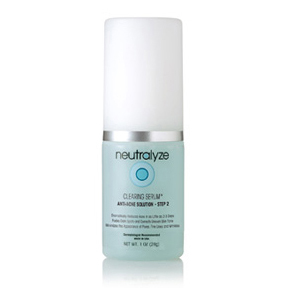 STEP 2: Neutralyze Clearing Serum