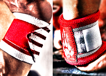 WRIST WRAPS CROSSFIT, WEIGHTLIFTING, POWERLIFTING