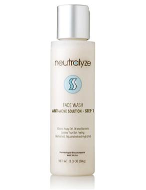 STEP 1: Neutralyze Face Wash