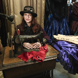 specialists in victorian and steampunk clothing & yes we are theatrical in our style!