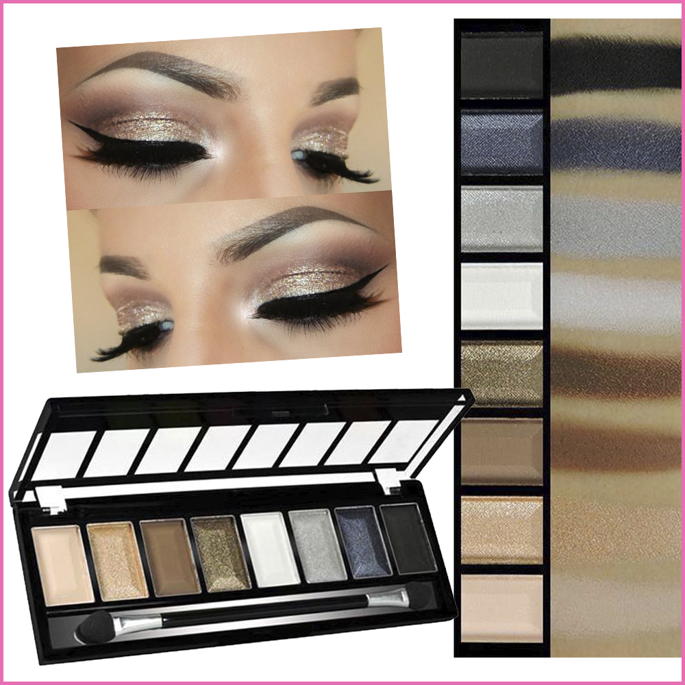 Smokey Eyeshadow Palette KC