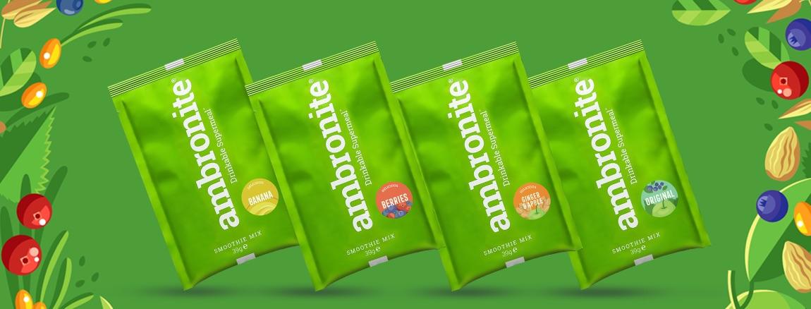 Ambronite 4 x165 flavors sample