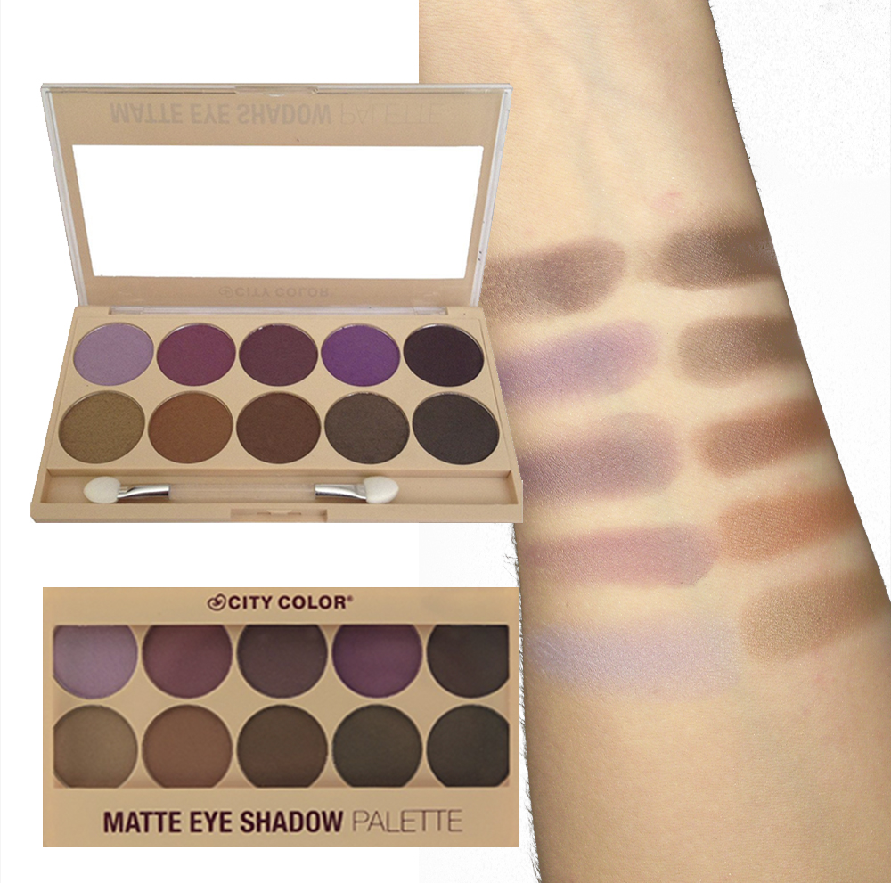 CITY COLOR Matte Eye Shadow Palette
