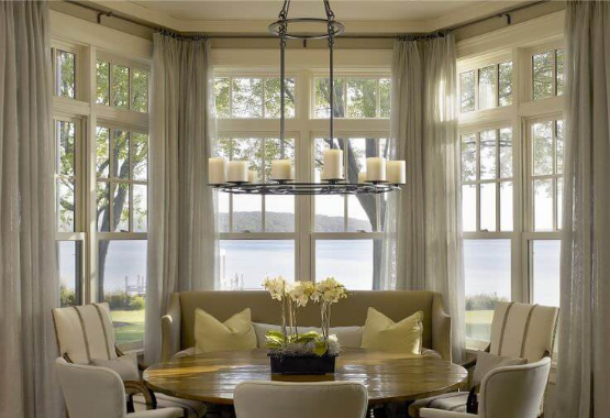 Decorative Curved Curtain Rods Custom Curved To Your Exact Specs Continental Window Fashions