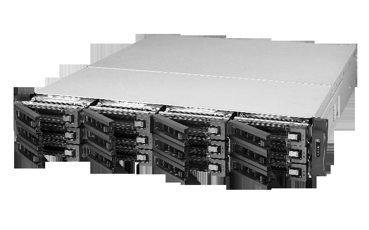 QNAP TS-EC1280U RP-R2 Hot-swappable