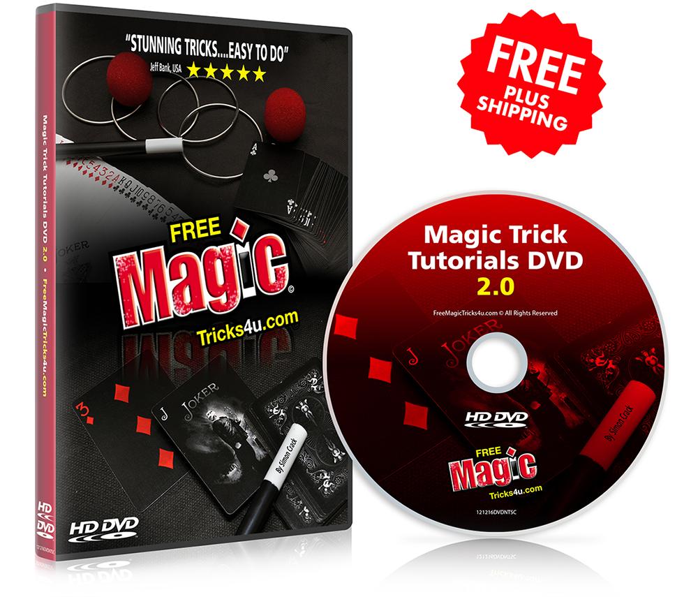 Magic Trick Tutorials DVD 2.0