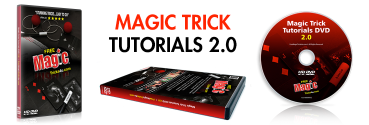 Magic Trick Tutorials DVD 2.0