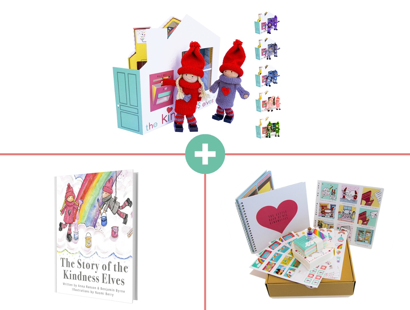 The Kindness Elves Family Bundle Pack
