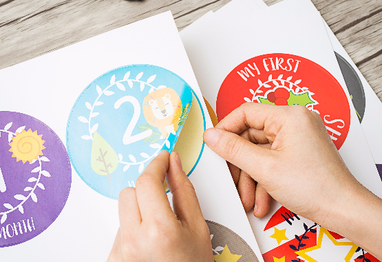PREMIUM BABY STICKERS UNLIKE ANY OTHER