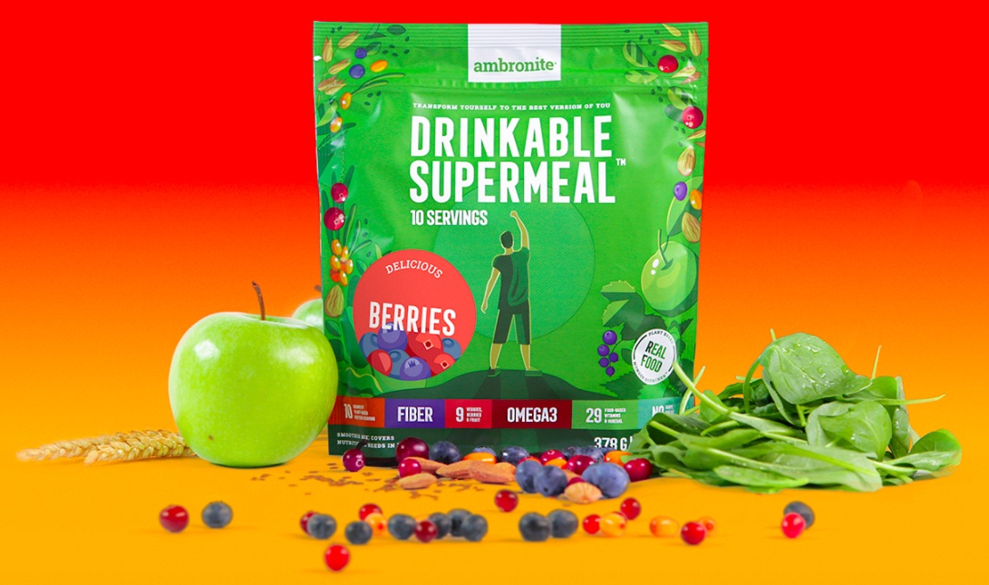 Ambronite Supermeal 1600 kcal Berries Flavor