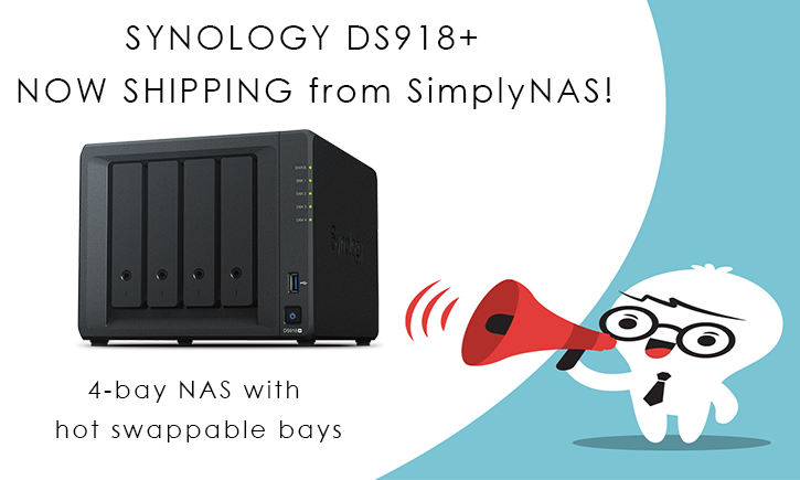 Synology ds918+ Blog post