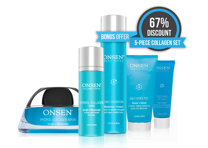 5-Piece Collagen Boost Set